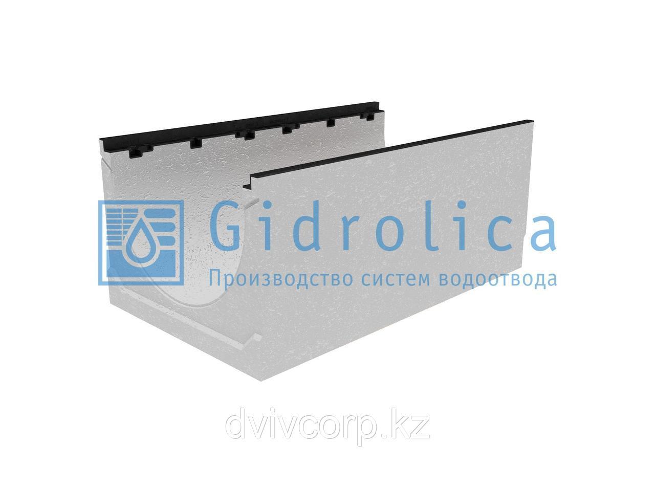 Лоток водоотводный бетонный коробчатый (СО-500мм), с чугунной насадкой КU 100.60,3 (50).42,5(33,5) - BGZ-S, №