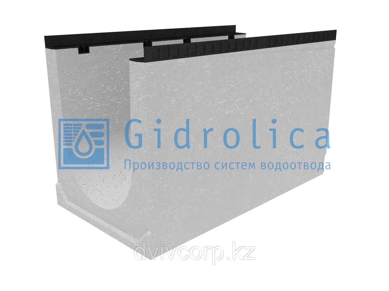 Лоток водоотводный бетонный коробчатый (СО-400мм)КU 100.54(40).62,5(54,5) - BGМ, № 35-0