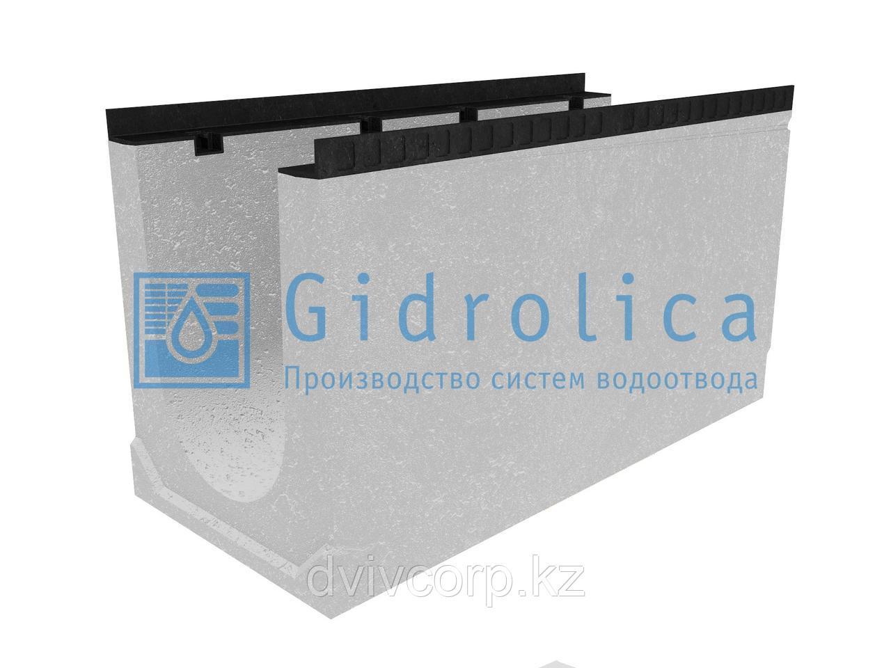 Лоток водоотводный бетонный коробчатый (СО-300мм)КU 100.44(30).55,5(48) - BGМ, № 20-0
