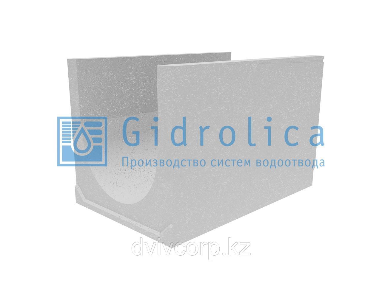 Лоток водоотводный бетонный коробчатый (СО-500мм)КU 100.65(50).65(56) - BGU-XL, № 40-0
