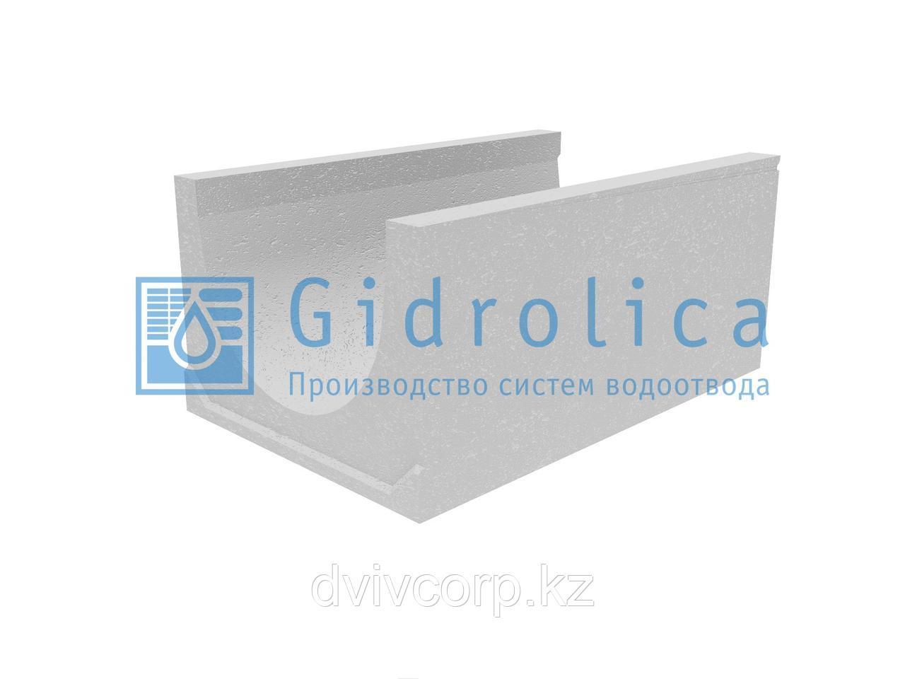 Лоток водоотводный бетонный коробчатый (СО-500мм)КU 100.65(50).45(36) - BGU-XL, № 0