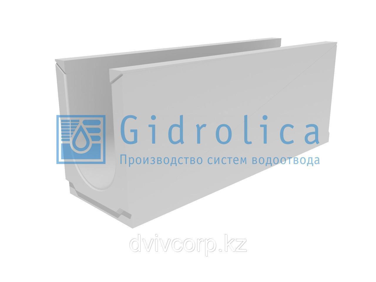 Лоток водоотводный бетонный коробчатый (СО-200мм)КU 100.29,8(20).39,5(32,5)-BGU, № 20-0