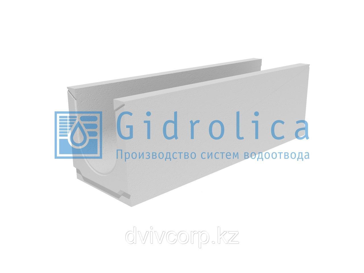 Лоток водоотводный бетонный коробчатый (СО-200мм)КU 100.29,8(20).32(25)-BGU, № 5-0