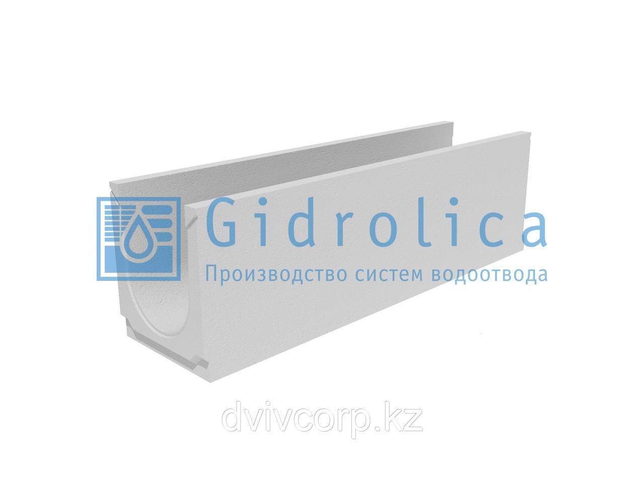 Лоток водоотводный бетонный коробчатый (СО-200мм)КU 100.26(20).30,5(25)-BGU, № 10-0