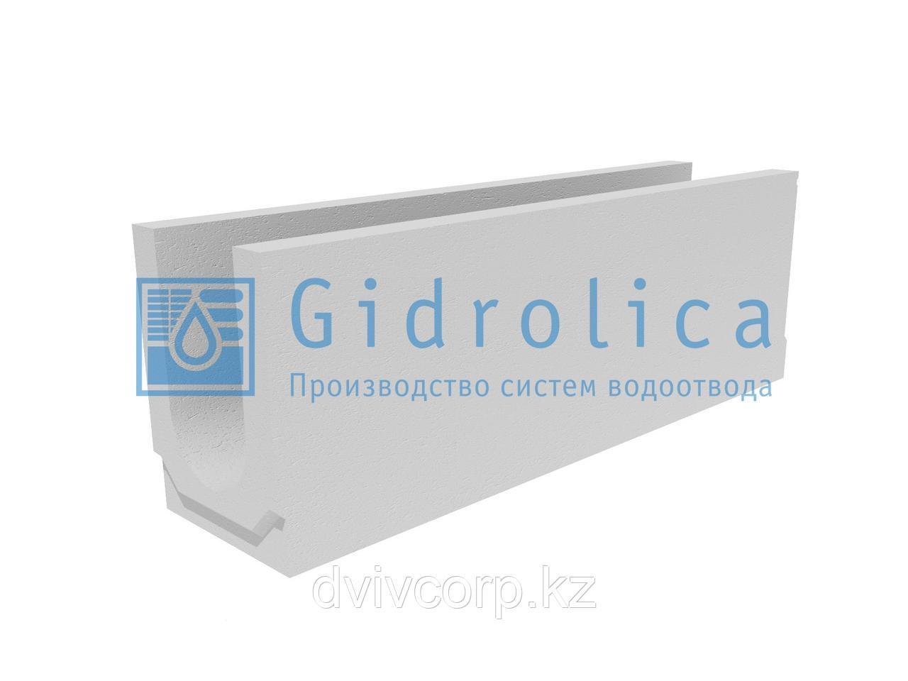 Лоток водоотводный бетонный коробчатый (СО-150мм)КU 100.24,8 (15).34(27,5)-BGU, № 20-0