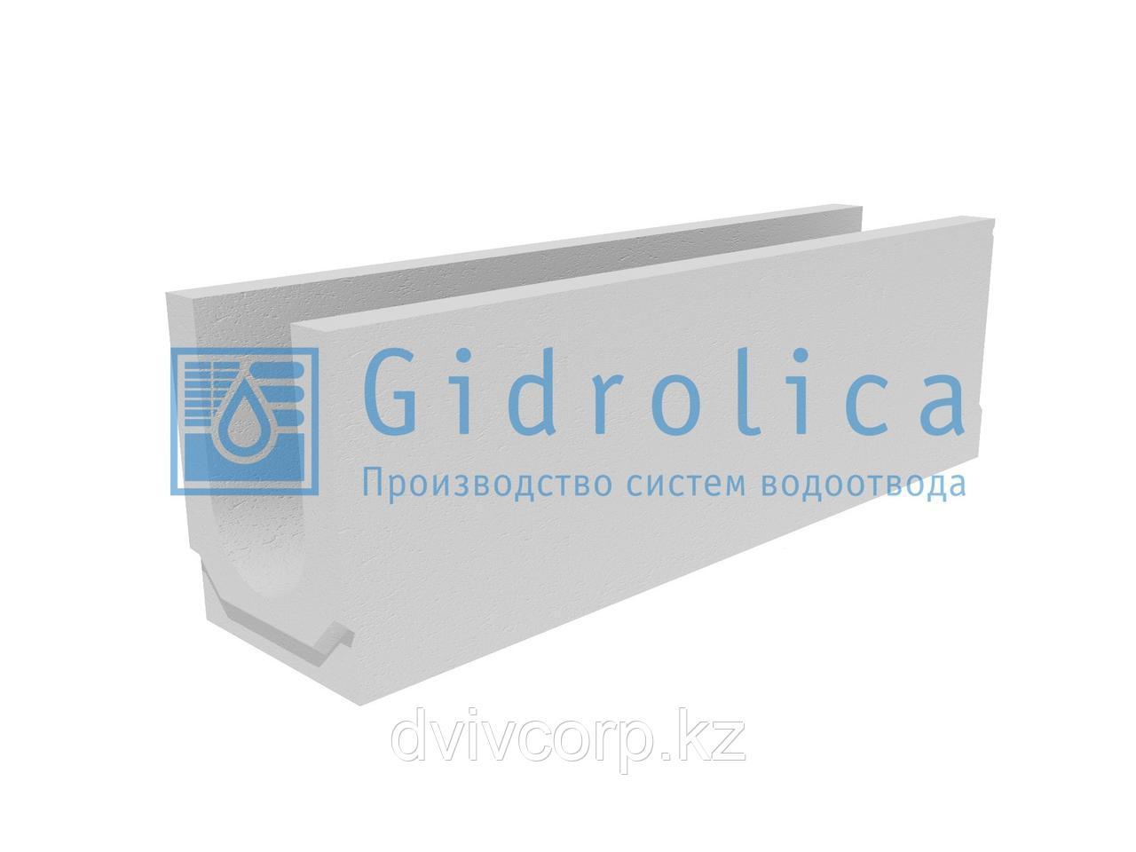 Лоток водоотводный бетонный коробчатый (СО-150мм)КU 100.24,8 (15).31,5(25)-BGU, № 15-0