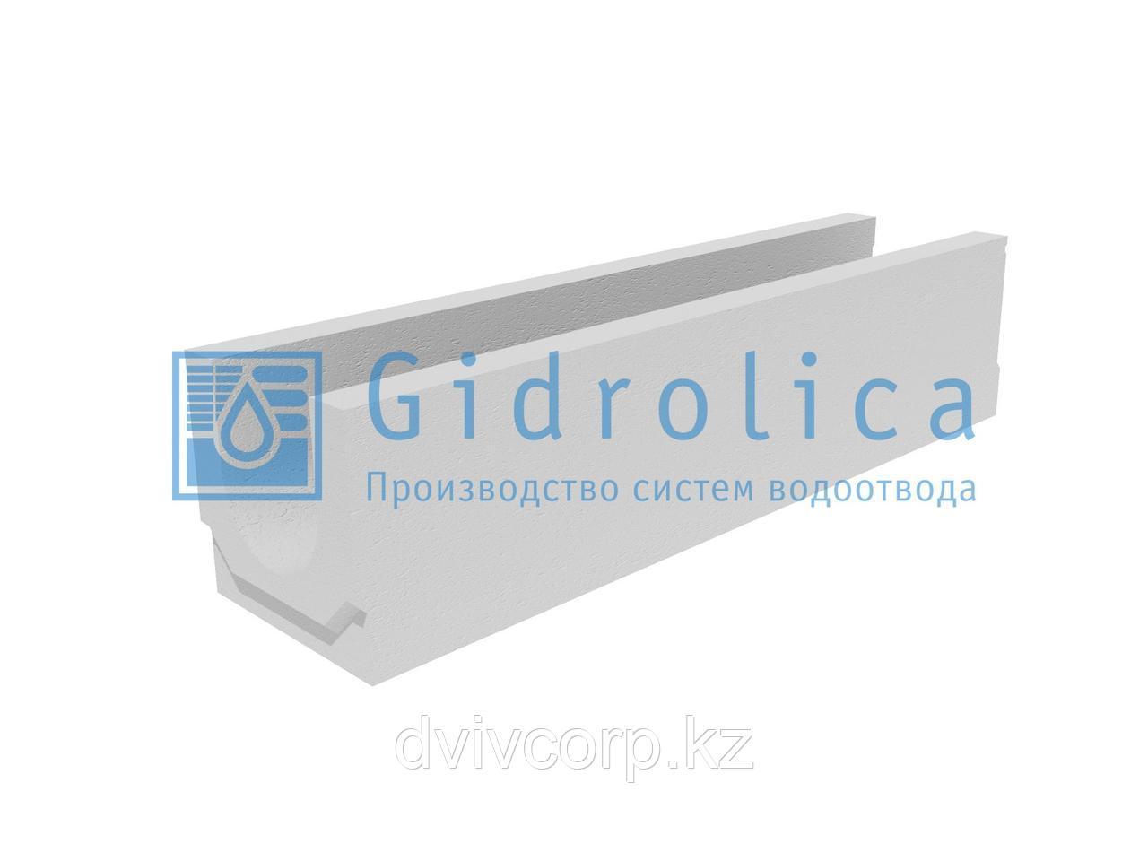 Лоток водоотводный бетонный коробчатый (СО-150мм)КU 100.24,8 (15).24(17,5) - BGU, № 0