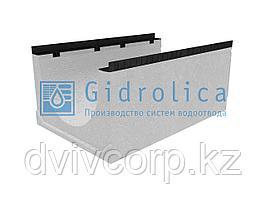 Лоток водоотводный бетонный коробчатый (СО-500мм), с уклоном 0,5%  КUу 100.65(50).45,5(36,5) - BGМ, № 1