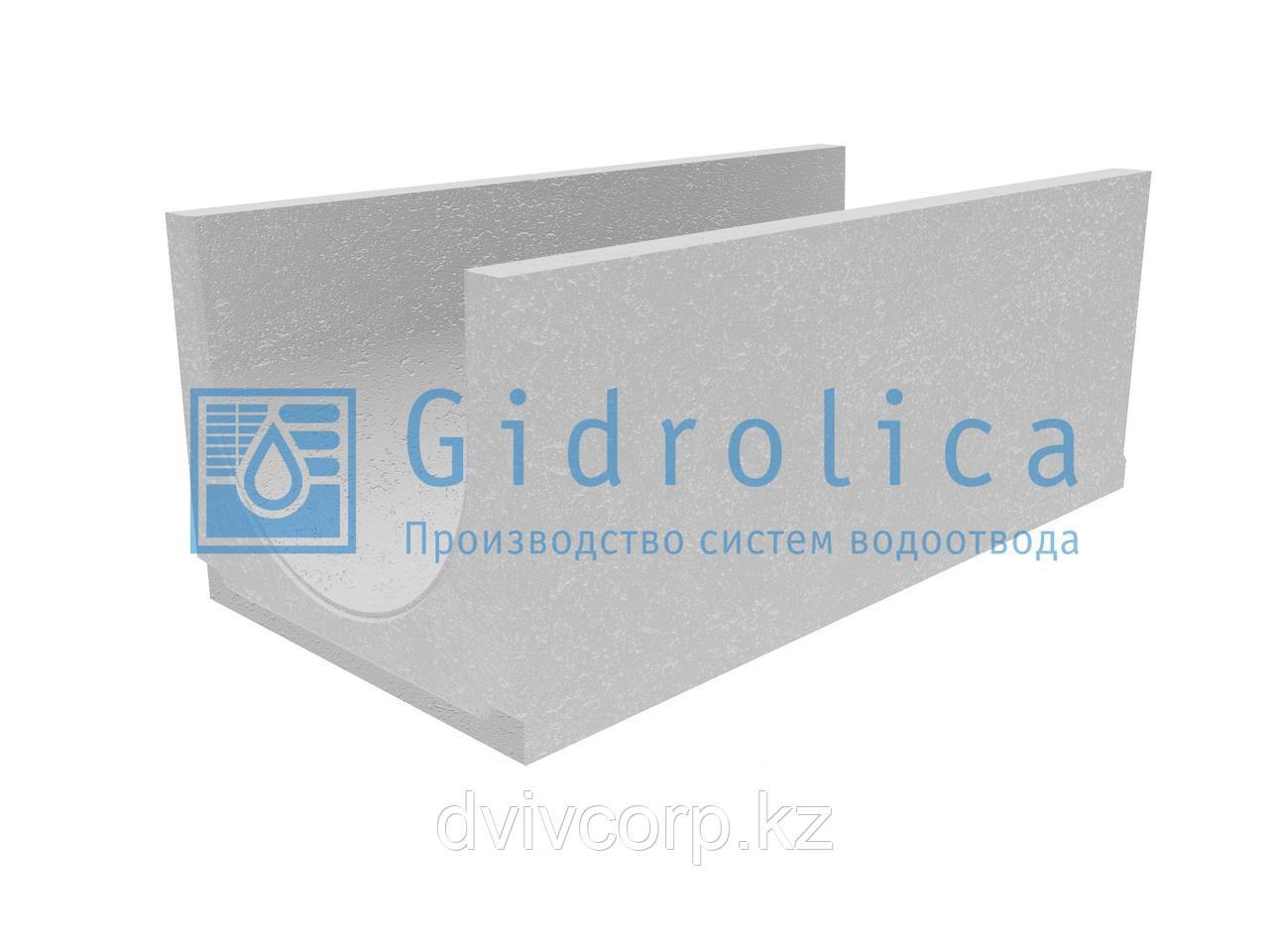 Лоток водоотводный бетонный коробчатый (СО-400мм), с уклоном 0,5%  КUу 100.49,4(40).40(33) - BGU, № 1