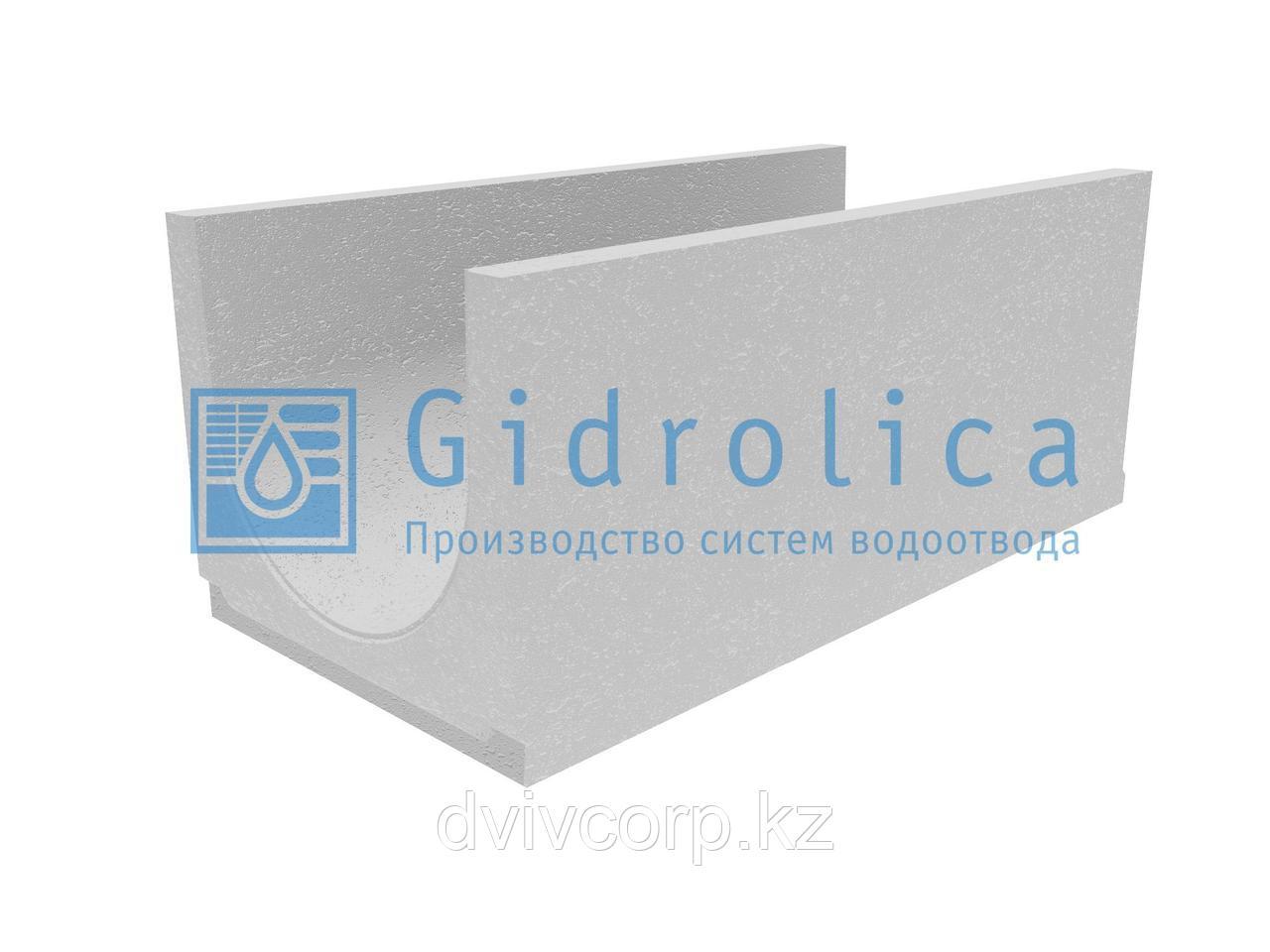 Лоток водоотводный бетонный коробчатый (СО-400мм), с уклоном 0,5% КUу 100.49,4(40).43,5(36,5) - BGU, № 8