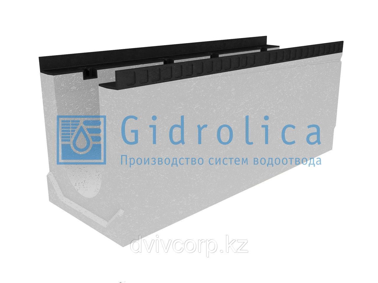 Лоток водоотводный бетонный коробчатый (СО-200мм), с уклоном 0,5%  КUу 100.34(20).41(34) - BGМ, № 20