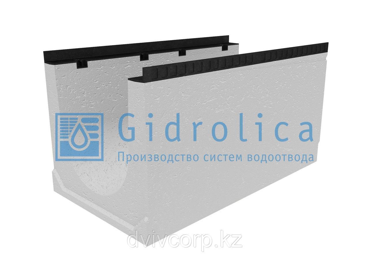 Лоток водоотводный бетонный коробчатый (СО-400мм), с уклоном 0,5%  КUу 100.54(40).53(45) - BGМ, № 16