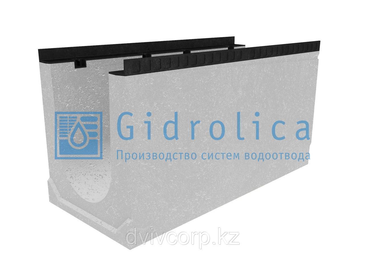 Лоток водоотводный бетонный коробчатый (СО-300мм), с уклоном 0,5%  КUу 100.44(30).52,5(45,5) - BGМ, № 15