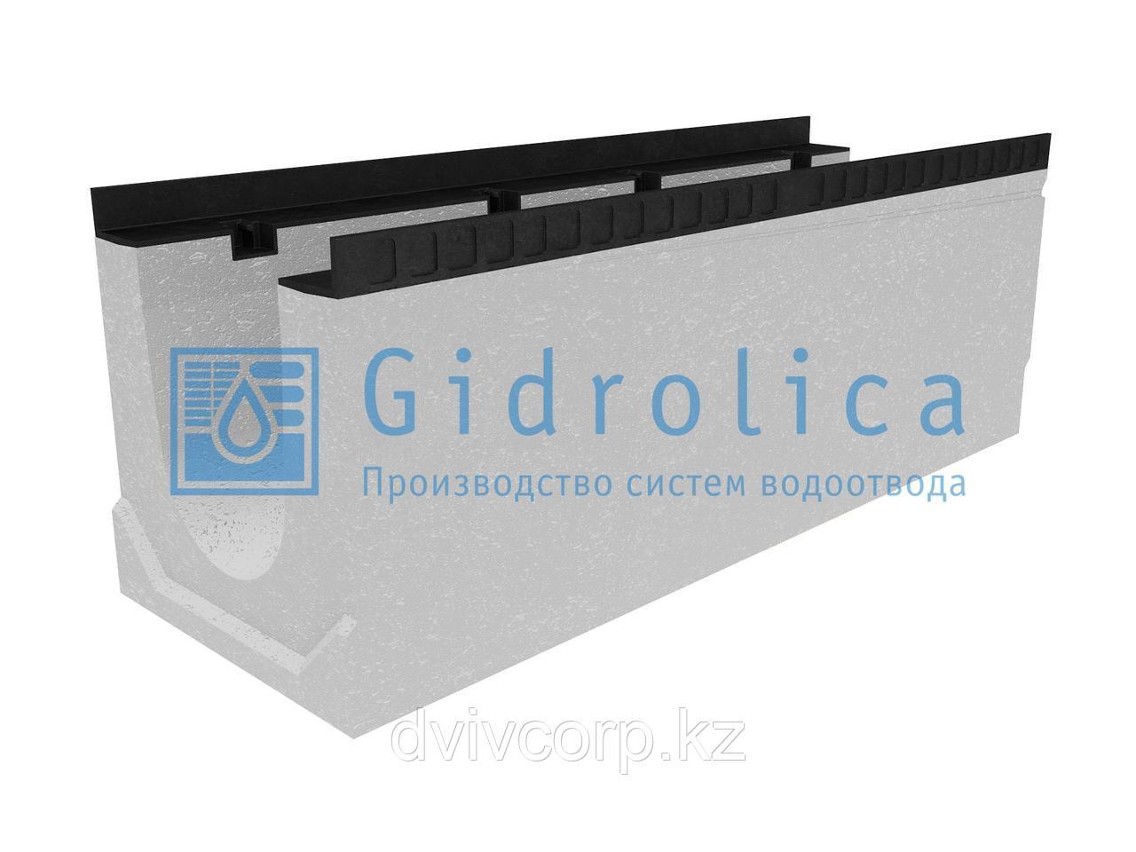 Лоток водоотводный бетонный коробчатый (СО-200мм), с уклоном 0,5%  КUу 100.34(20).36(29) - BGМ, № 10