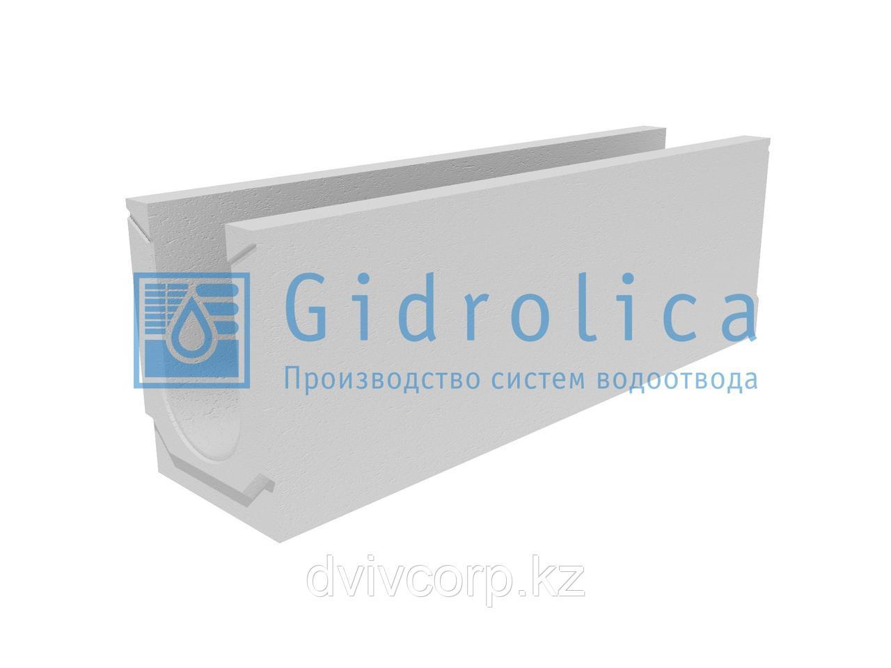 Лоток водоотводный бетонный коробчатый (СО-150мм), с уклоном 0,5%  КUу 100.24,8 (15).34(27,5)-BGU, № 20