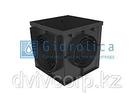 Дождеприемник Gidrolica Point ДП-40.40 - пластиковый