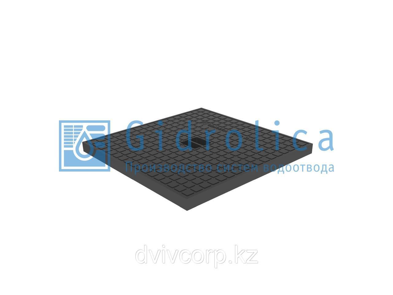 Крышка для дождеприёмника Gidrolica Point ДП-40.40 пластиковая