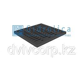 Решетка водоприемная Gidrolica Point РВ-40.40 - пластиковая, кл. А15