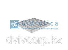 Решетка водоприемная Gidrolica Point РВ-28,5.28,5 - ячеистая стальная оцинкованная, кл. В125
