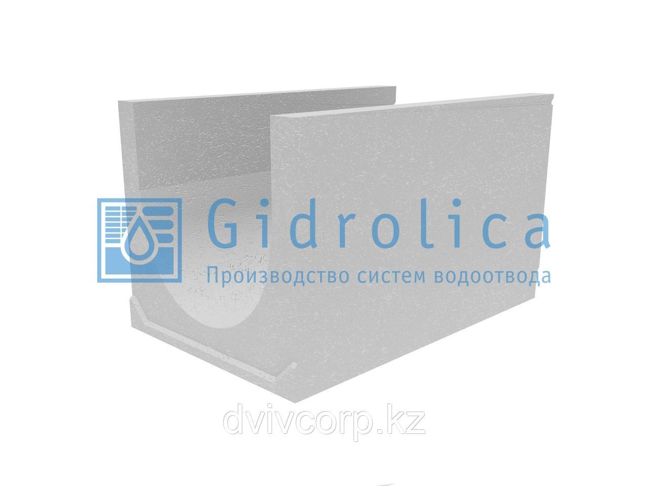 Лоток водоотводный бетонный коробчатый (СО-500мм), с уклоном 0,5%  КUу 100.65(50).60(51) - BGU-XL, № 30