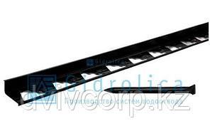 Бордюр Gidrolica Line Б-300.8,5.4.5 - пластиковый черный L3000