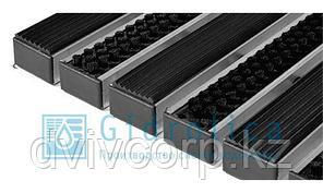 Придверная решетка Gidrolica Step - резина+щетка,  м.кв.