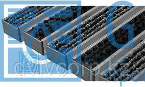 Придверная решетка Gidrolica Step - текстиль+щетка,  м.кв.