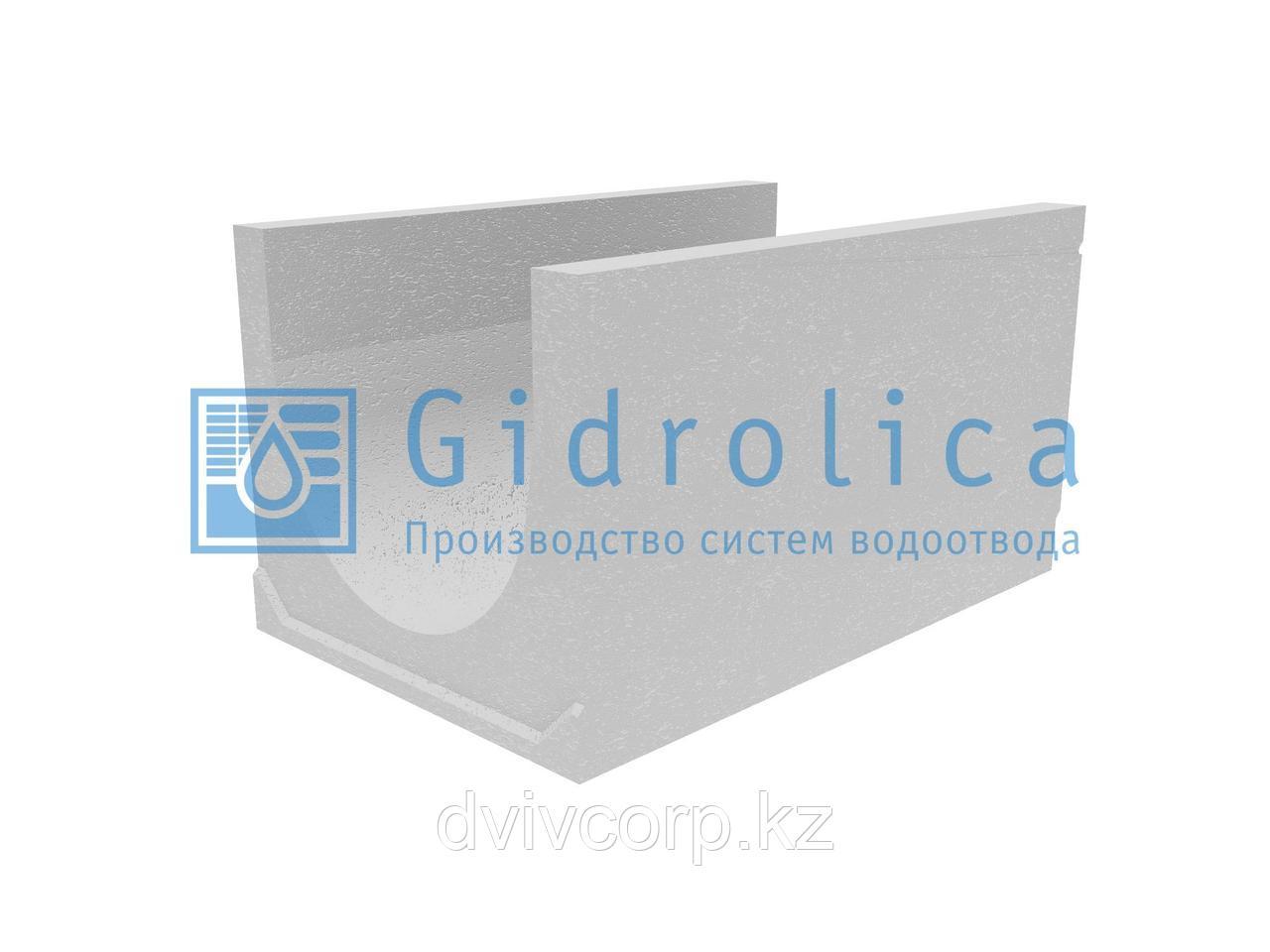 Лоток водоотводный бетонный коробчатый (СО-500мм), с уклоном 0,5%  КUу 100.65(50).56,5(47,5) - BGU-XL, № 23