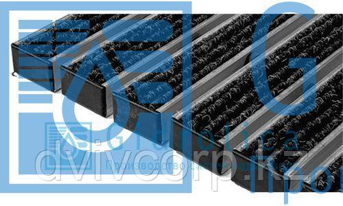 Придверная решетка Gidrolica Step - текстиль,  м.кв.