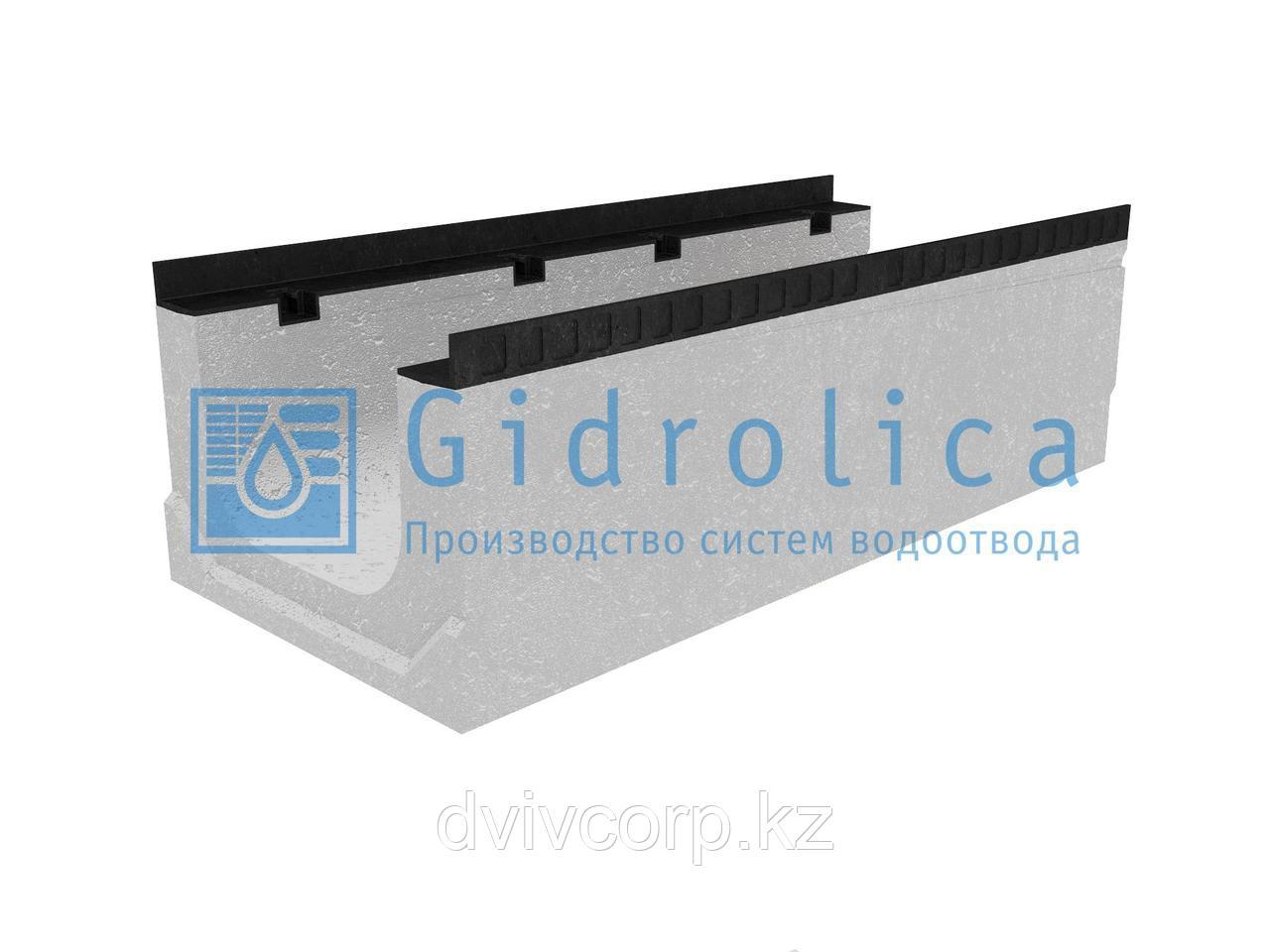 Лоток водоотводный бетонный коробчатый (СО-300мм), с уклоном 0,5%  КПу 100.44(30).32,5(25,5) - BGМ-F, № 3