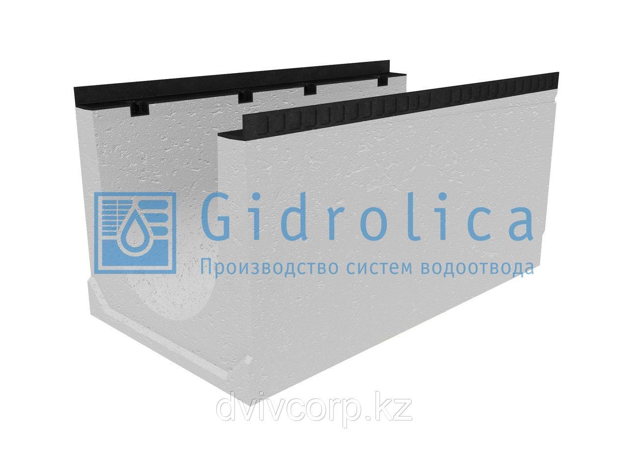 Лоток водоотводный бетонный коробчатый (СО-400мм), с уклоном 0,5%  КUу 100.54(40).52(44) - BGМ, № 14
