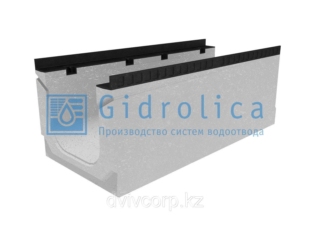 Лоток водоотводный бетонный коробчатый (СО-300мм), с уклоном 0,5%  КПу 100.44(30).39(32) - BGМ-F, № 16
