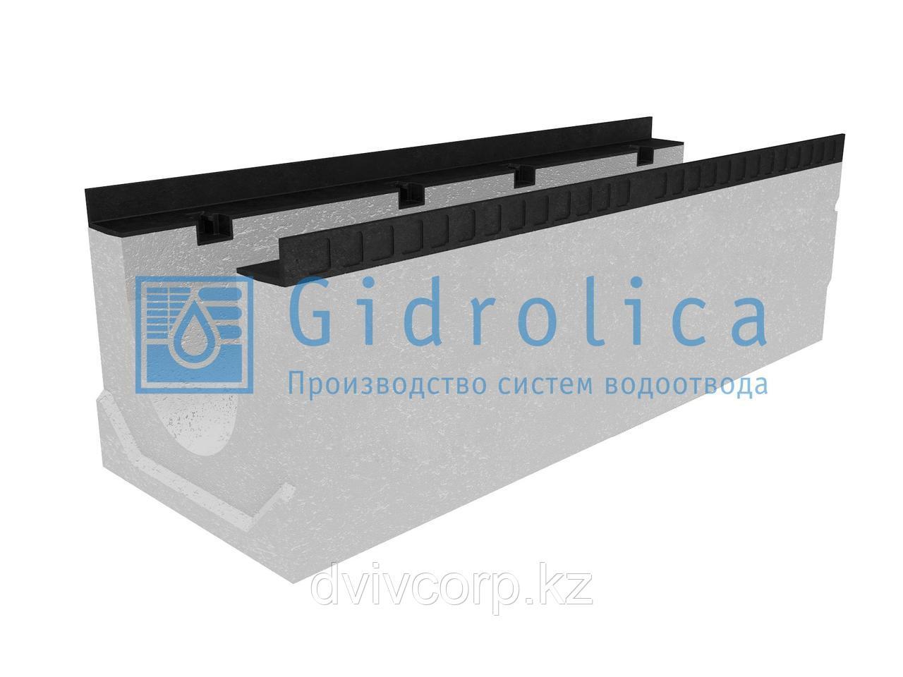 Лоток водоотводный бетонный коробчатый (СО-200мм), с уклоном 0,5%  КUу 100.34(20).31,5(24,5) - BGМ, № 1
