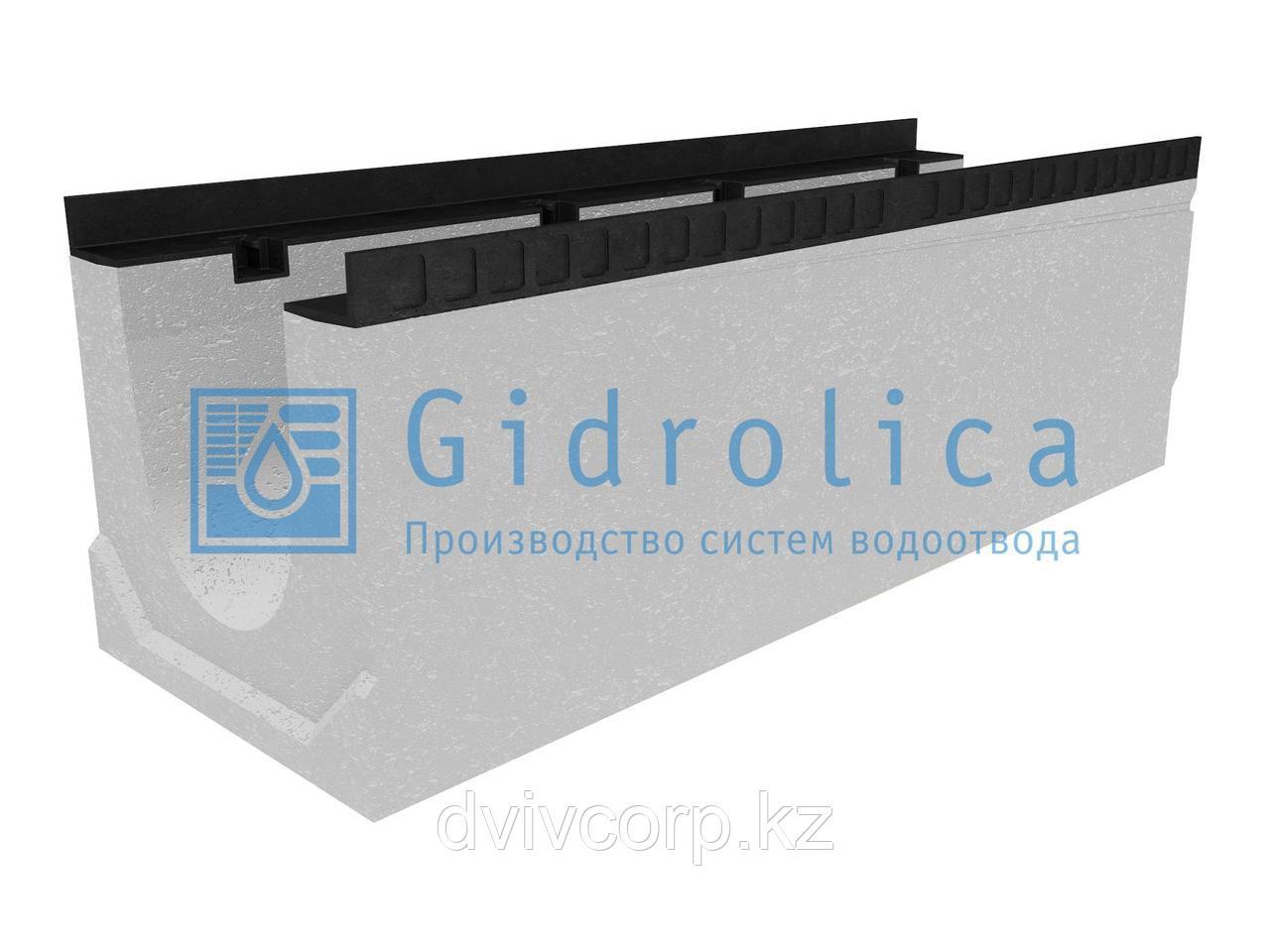 Лоток водоотводный бетонный коробчатый (СО-200мм), с уклоном 0,5%  КUу 100.34(20).35(28) - BGМ, № 8