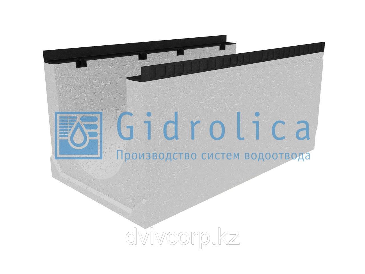 Лоток водоотводный бетонный коробчатый (СО-400мм), с уклоном 0,5%  КUу 100.54(40).49(41) - BGМ, № 8