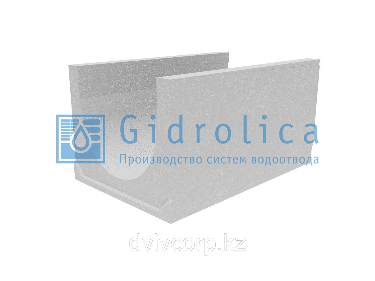 Лоток водоотводный бетонный коробчатый (СО-500мм), с уклоном 0,5%  КU у100.65(50).53,5(44,5) - BGU-XL, № 17