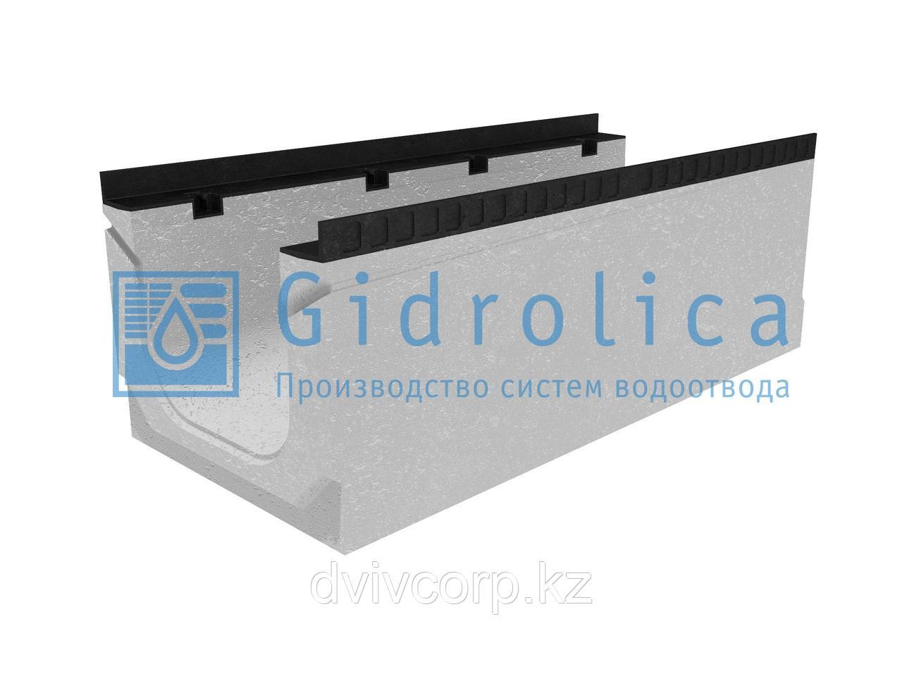 Лоток водоотводный бетонный коробчатый (СО-300мм), с уклоном 0,5%  КПу 100.44(30).36,5(29,5) - BGМ-F, № 11