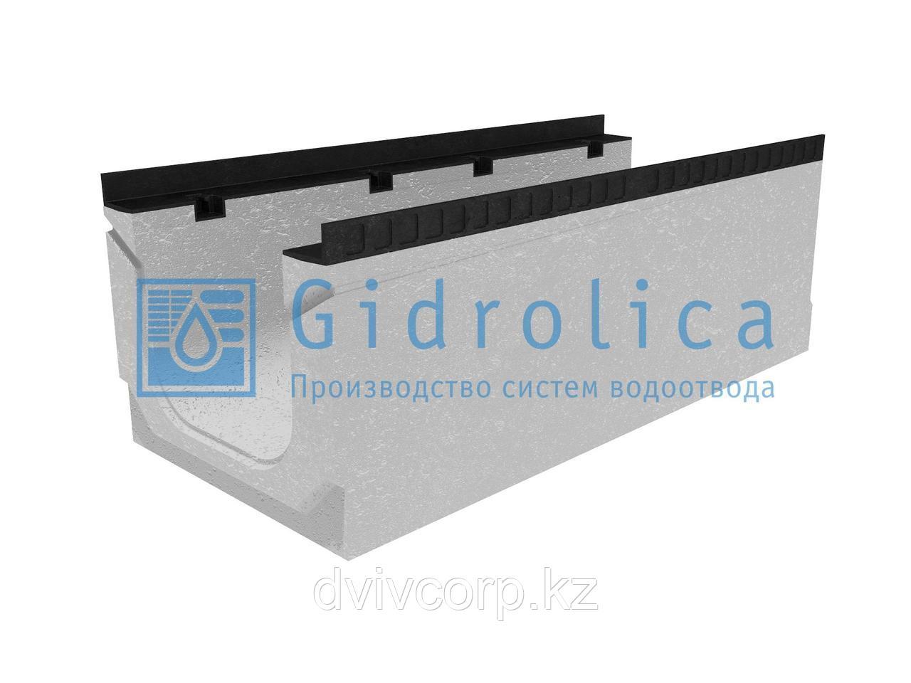 Лоток водоотводный бетонный коробчатый (СО-300мм), с уклоном 0,5%  КПу 100.44(30).37,5(30,5) - BGМ-F, № 13