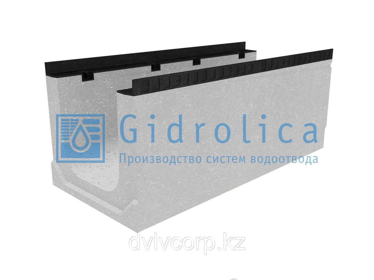 Лоток водоотводный бетонный коробчатый (СО-300мм), с уклоном 0,5%  КПу 100.44(30).41(34) - BGМ-F, № 20