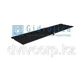 Решетка ячеистая чугунная Filcoten DN 100, 500/124/5, кл. C250, с пружинным крепежом