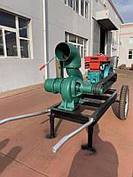 Насос для дождевальной машины JP 75 400 с дизельным двигателем