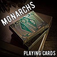 Карты Monarch green (Theory11)