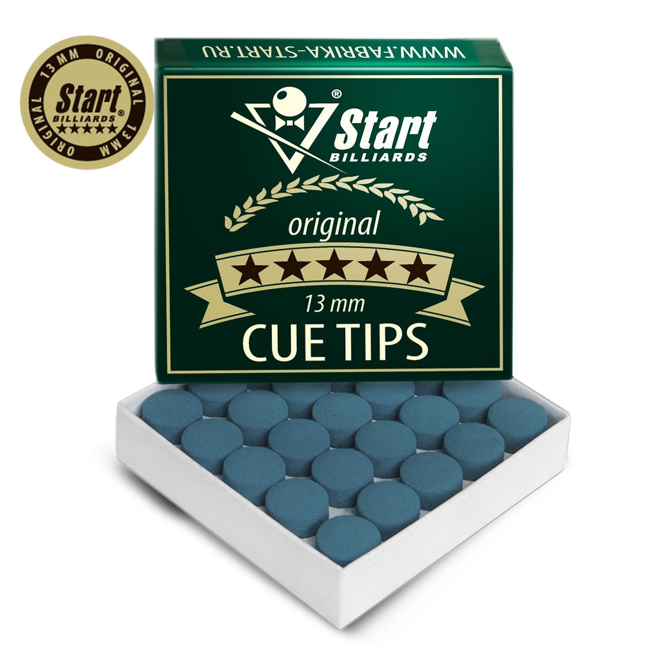 Наклейка на кий Startbilliards Cue Tips original 13 мм SB063 (Поштучно)