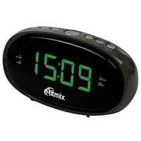 Часы радиобудильник Ritmix RRC-616, Black