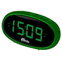 Часы радиобудильник Ritmix RRC-616, Green