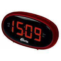Часы радиобудильник Ritmix RRC-616, Red