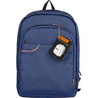 """CANYON Fashion backpack for 15.6"""" laptop, Blue/Gray"""