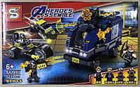 Конструктор Heroes Assemble Мстители SY1487 Нападение на грузовик