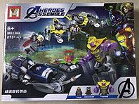 Конструктор MG138A Heroes Assemble Мстители Танос Айм Агент и Тор