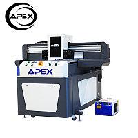 Планшетный УФ-принтер APEX с 3D-тиснением для корпуса телефона / стекла / акрила / кожи